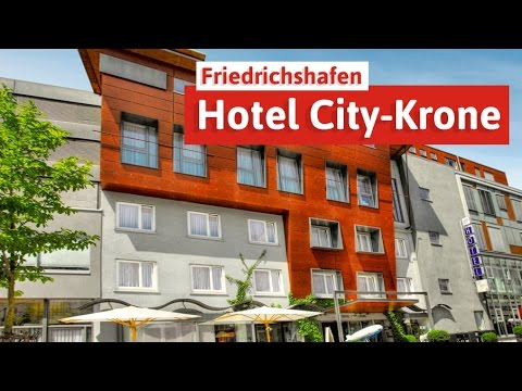 Hotel City-Krone in Friedrichshafen - Wellness am Bodensee