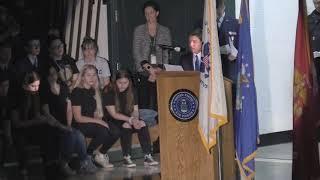 2018 Park High School Veterans Day Event