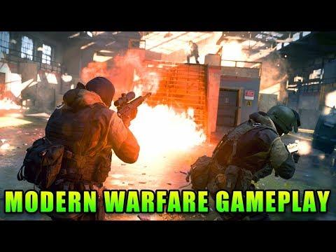 COD Modern Warfare Gameplay - What A Battlefield Player Thinks