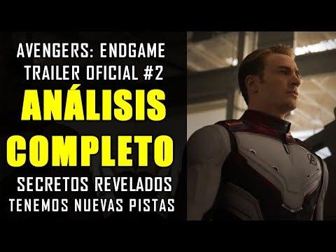 ¡LO QUE NO VISTE!  Avengers Endgame trailer #2 oficial Grandes conexiones  ANÁLISIS Y EXPLICACIÓN
