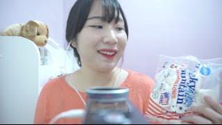 3D Korean 한국어 ASMR/머쉬멜로우 먹으면서 수다떨기/Marshmallow Eating Sounds/Binaural