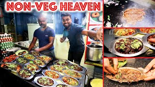 BEST EVER! Non-veg Street food HEAVEN in Chennai - 24HOUR Restaurant