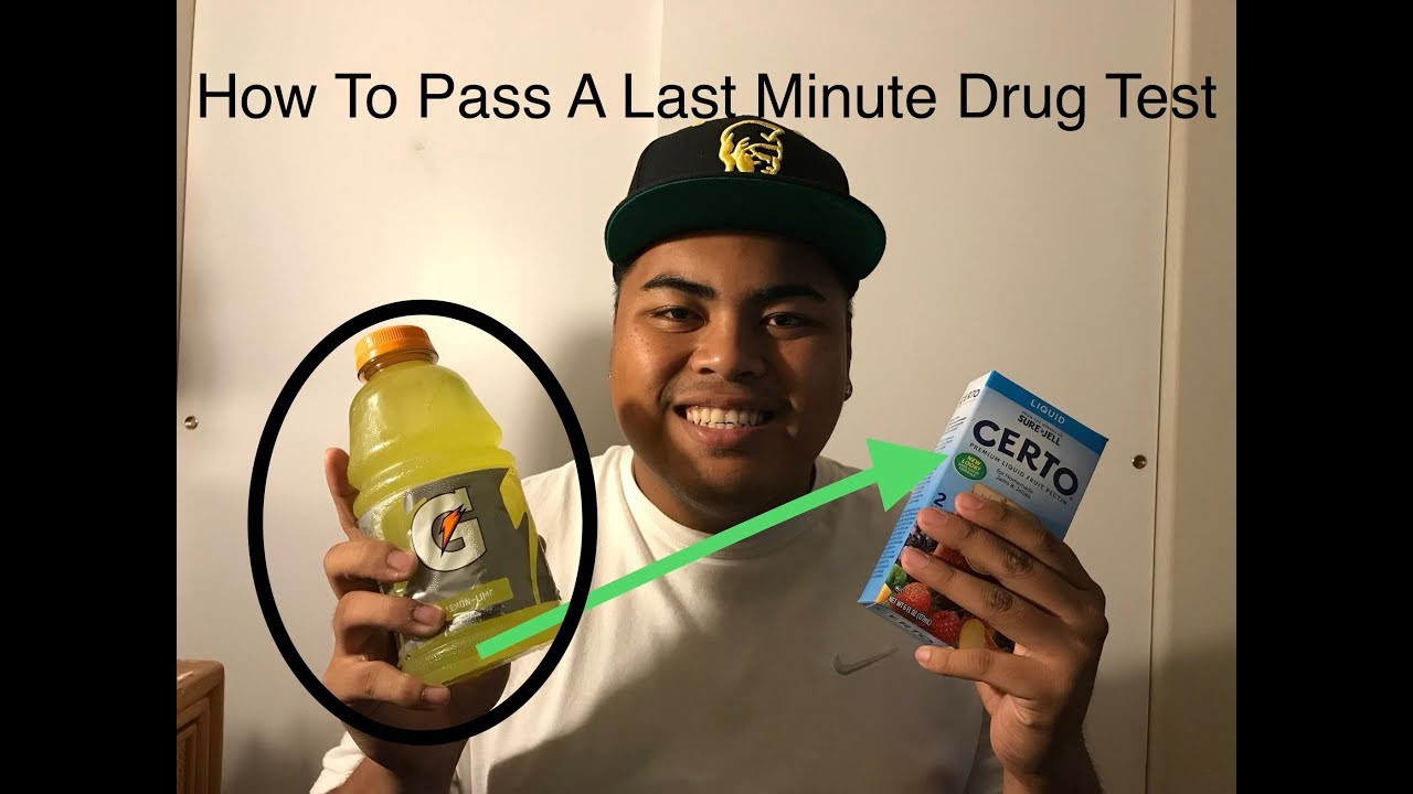 """How To Pass A Drug Test Last Minute! (WORKS) """"CHECK DESCRIPTION"""""""