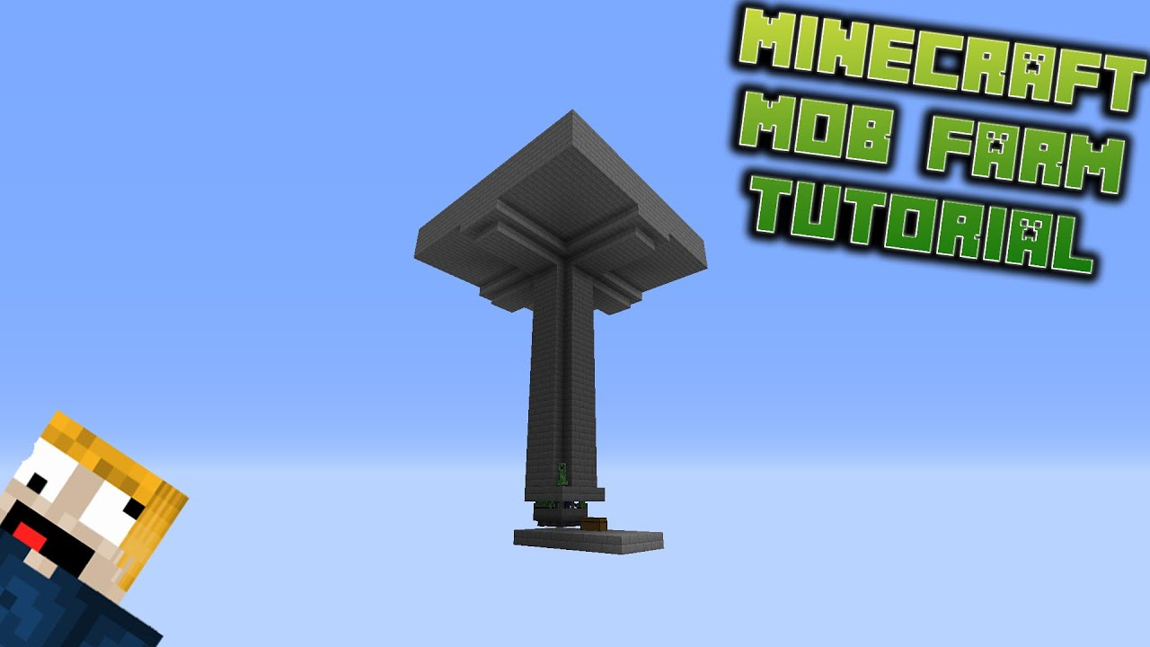 Minecraft - How To Make Mob Farm - YouTube