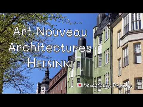 HELSINKI - Art Nouveau   Beautiful Buildings   FINLAND Travel