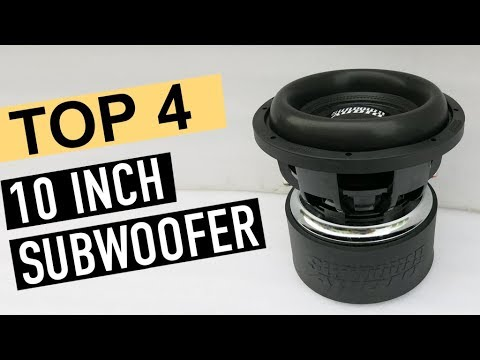 BEST 4: 10 Inch Subwoofer 2019