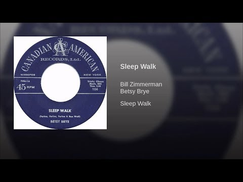 Betsy Brye - Sleepwalk (with Lyrics On Screen)