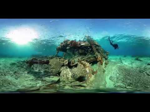 360 Avanti Shipwreck Dry Tortugas National Park