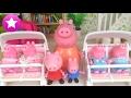 SUSCRÍBETE: https://goo.gl/Mo5zBO Aumenta la familia de Peppa Pig. Mamá Pig tiene 4 bebés. Irán al hospital. Y al volver a casa tendrán que comprar ...