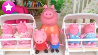 Mamá Pig 56# 4 nuevos hermanitos Peppa Pig en español