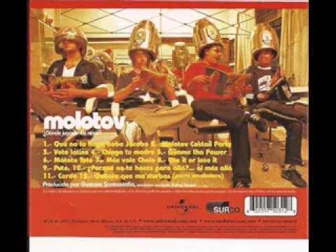 Molotov ¿Dónde jugarán las niñas? Album completo 1997