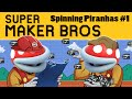 Super Mario Maker | Spinning Piranhas Ep. 1 | Super Beard Bros.