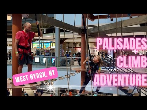Palisades Climb Adventure - World's Tallest Indoor Ropes Course!