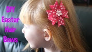Easter Hair Bows Thumbnail