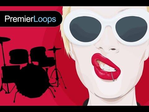 Punk Rock - Play along for Guitar, Bass - Floor Tom Drum Loop Beat - Practice Tool