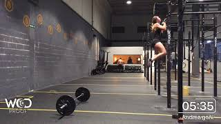 The Partners Games 2018 AFW, WOD 18.2A, Andrea Goñi, Powell Team, OPEN