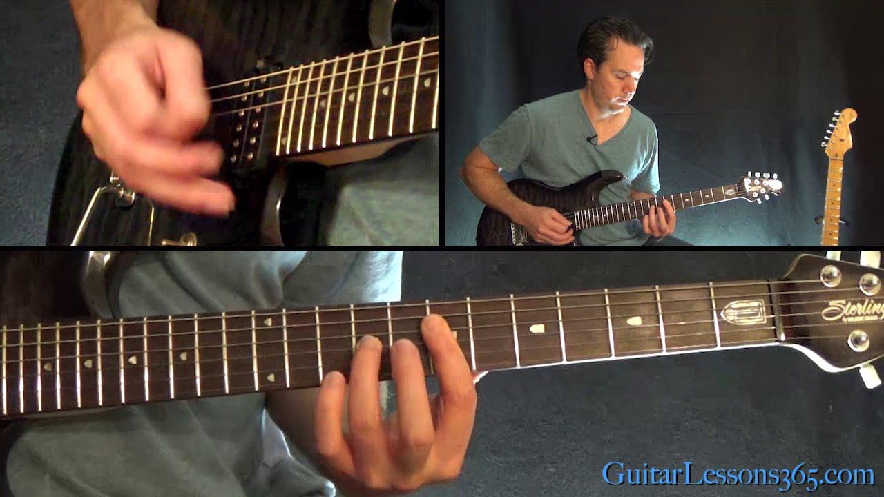 Black Or White Guitar Lesson Michael Jackson Youtube