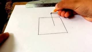 How to Draw A Cube-EASY FOR KIDS