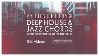 Deep House Jazz Chords - Ableton Live Chord Rack