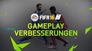 FIFA 16 Gameplay Features: Innovationen auf dem gesamten Platz