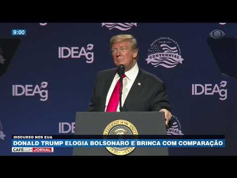 Donald Trump elogia