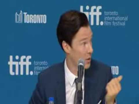Benedict talks about working with Daniel Brühl TIFF 2013