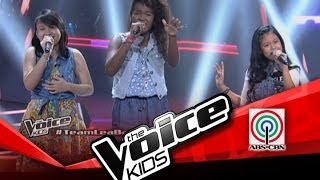 "The Voice Kids Philippines Battle ""When You Believe"" by Giedie, Angel, and Grace"