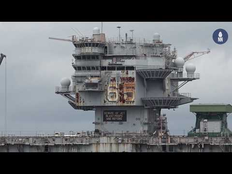 Tour of U.S. Navy's Norfolk Naval Station and Shipyards - Ma