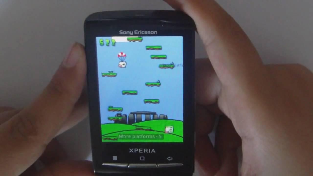 Sony Ericsson Spiele