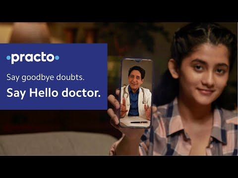 #HelloDoctor Consult a doctor online from home | Top doctors available 24*7 on Practo | Hindi