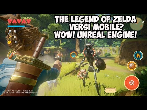 Game Mobile Kualitas Mendekati Console & PC – Oceanhorn 2: Knight Of The Lost Realm (Android/iOS)