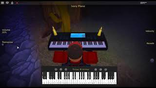 It's a Beautiful Day Outside - Undertale by: Toby Fox on a ROBLOX piano. [Megalovania Remix]