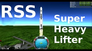 Real Solar System, 200 Tonne Lifter, Kerbal Space Program