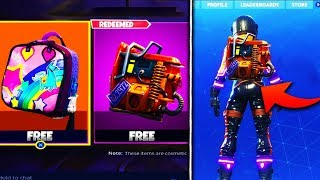 "FREE NEW ITEMS FOR ALL Fortnite PLAYERS! - How to Get The FREE ""Rust Bucket"" Back Bling In Fortnite"