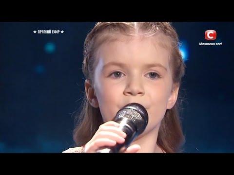 Вероника Морская(6 лет) - Боже, Україну збережи \