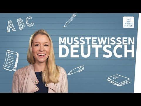 Kanaltrailer I musstewissen Deutsch