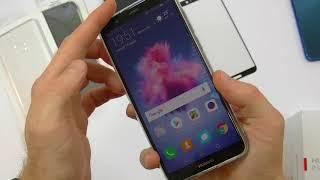 Unboxing Huawei P Smart Prova custodia originale Flip cover+altre 3 custodie+pellicola vetro