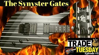 My Bass to Open the Gates! | 2007 Schecter Synyster Custom Avenged Sevenfold | Trade Tuesday #3
