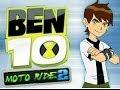 Ben 10 moto ride 2 - ben 10 cartoon game