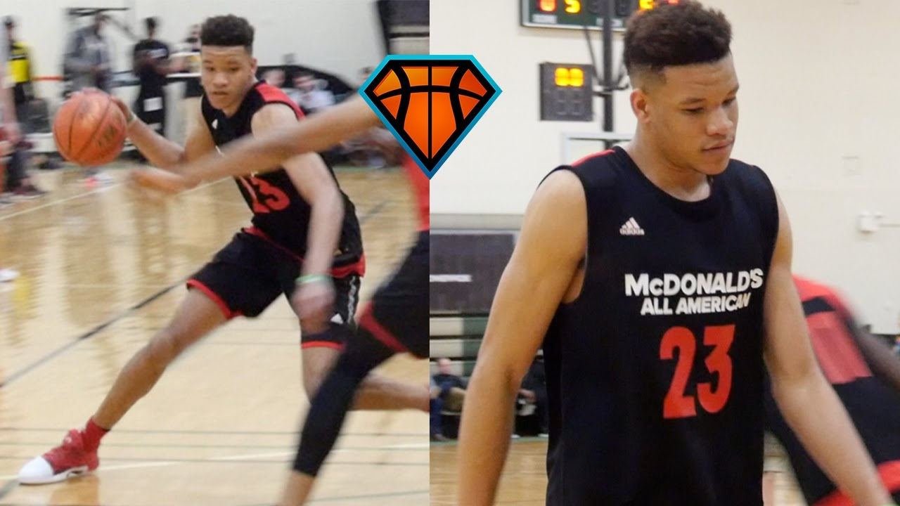 b73f4ad1b56 Kevin Knox Was DOMINANT All Week In Front of NBA Scouts ...