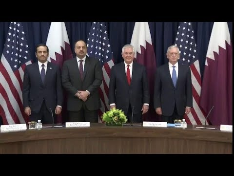 Secretary Rex Tillerson  and Secretary James Mattis Co-Host US-Qatar Strategic Dialogue