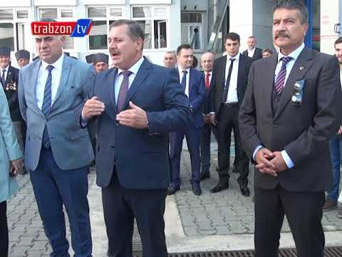 Trabzon Emniyet Müdürü Orhan Çevik Görevini Metin Alper'e Devretti