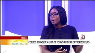 Forbes 30 under 30 list of young African entrepreneurs