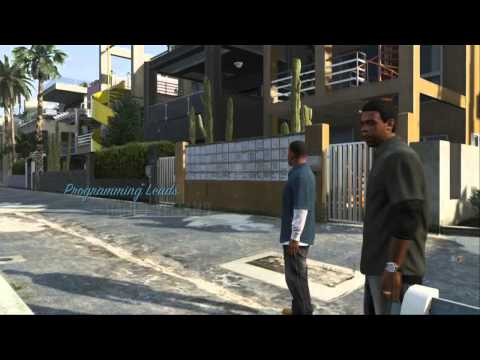 GTA V EPISODE 1 - BANK ROBBERY!!!