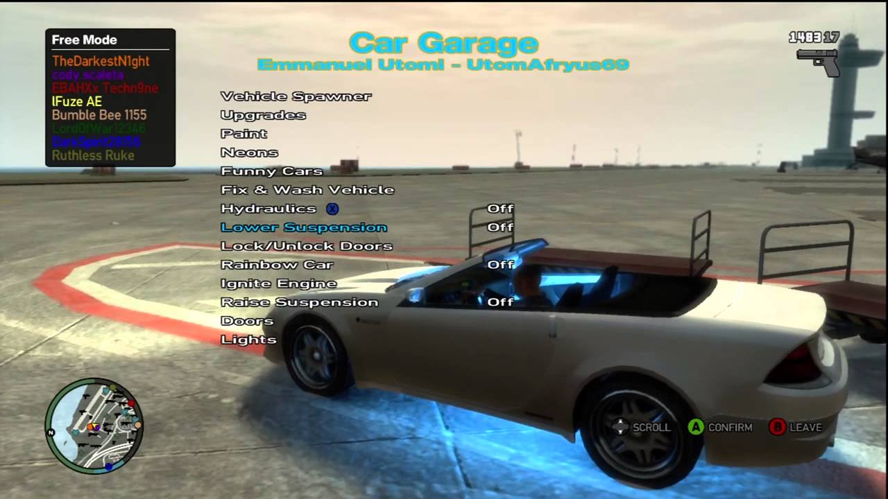Original GTA IV ISO Mods Download Link Xbox 360 Fear