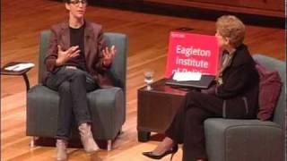 Rachel Maddow conversation with Ruth B. Mandel (Eagleton Institute)