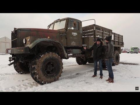 Paliwożerny radziecki olbrzym, który potrafił wjechać wszędzie! #Legendy_PRL