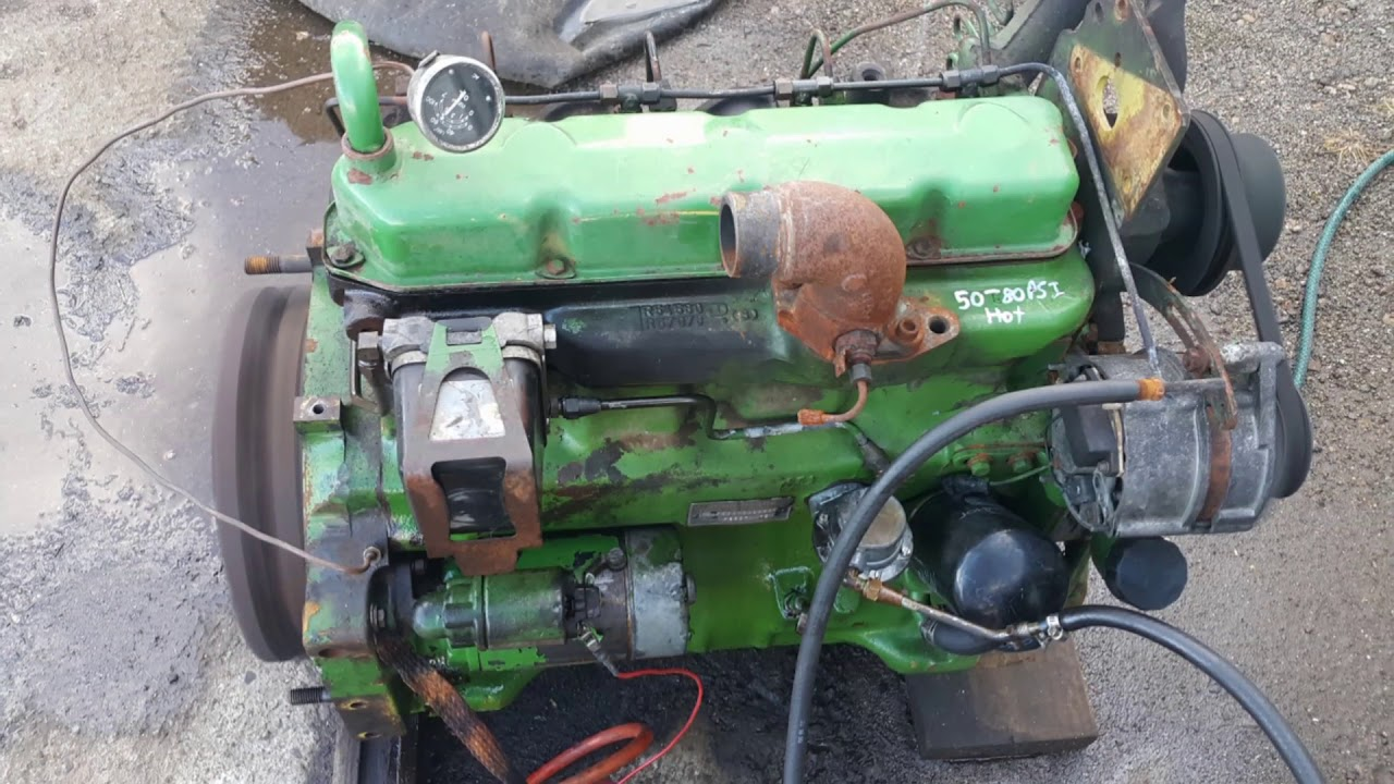 John Deere Running Engine Sold