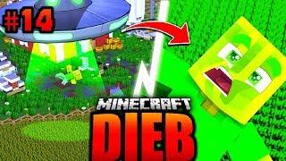 DAS ALIEN UFO vom NACHBAR?! - Minecraft DIEB #14 [Deutsch/HD]