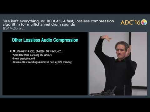 BFDLAC, a compression algorithm for multichannel sounds, SKoT McDonald